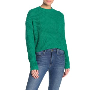 Ribbed Knit Dolman Sweater
