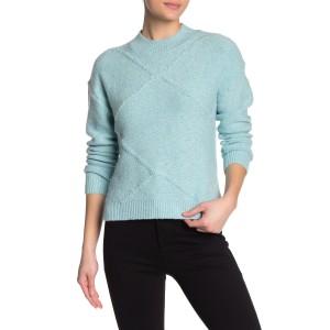 Knit Stitch Design Pullover Sweater