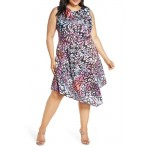 Hani Asymmetrical Dress (Plus Size)