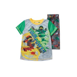 LEGO Ninjago Find Your Power Within Short Pajama Set (Little Boys & Big Boys)
