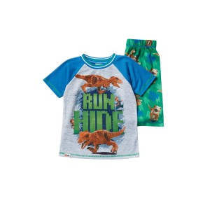 LEGO Jurassic World Run & Hide Short Pajama Set (Little Boys & Big Boys)