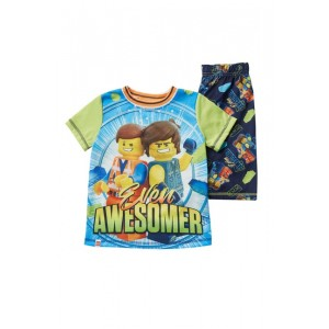 LEGO Movie 2 Even Awesomer Short Pajama Set (Little Boys & Big Boys)