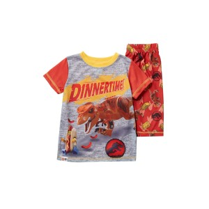 LEGO Jurassic World Dinnertime Short Pajama Set (Little Boys & Big Boys)