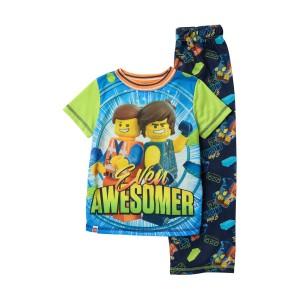 LEGO Movie 2 Even Awesomer Pajama Set (Little Boys & Big Boys)