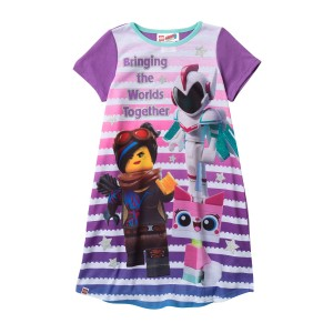 LEGO Movie 2 Bringing the Worlds Together Nightgown (Little Girls & Big Girls)