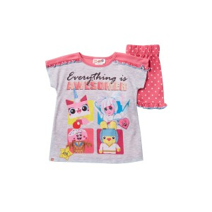 LEGO Movie 2 Everything is Awesomer Short Pajama Set (Little Girls & Big Girls)