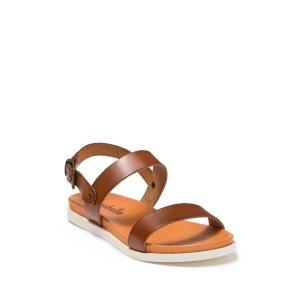 Sal Glitter & Leather Sandal