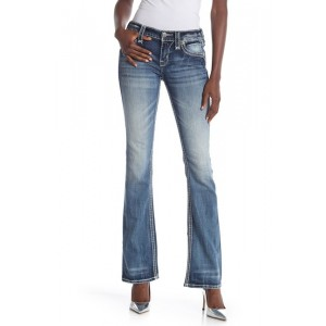 Karisse Mid Rise Bootcut Jeans
