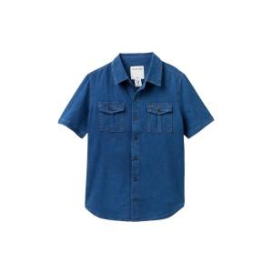 2-Toned Woven Shirt (Big Boys)