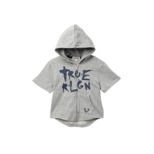 True Shirt Sleeve Full Zip Hoodie (Little Boys)