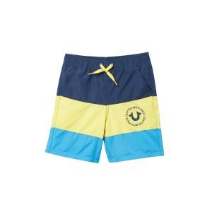 Big Stripe Swim Shorts (Little Boys)