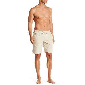Elastic Waist Drawstring Board Shorts