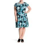 Springtime Floral Dress (Plus Size)