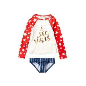Seein Stars Rashguard Set (Little Girls & Big Girls)