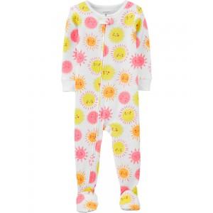 1-Piece Sunshine Snug Fit Cotton PJs