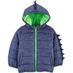 Dinosaur Puffer Jacket