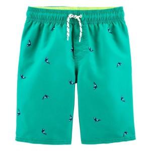 OshKosh Whale Swim Trunks