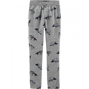 French Terry Shark Joggers