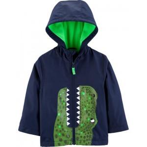 Dinosaur Fleece-Lined Jacket