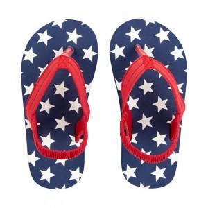 Carters 4th Of July Flip Flops