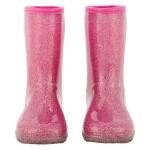 Carter's Pink Glitter Rain Boots