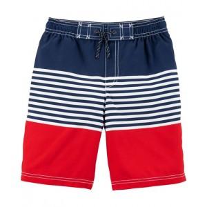 Carter's Striped Swim Trunks