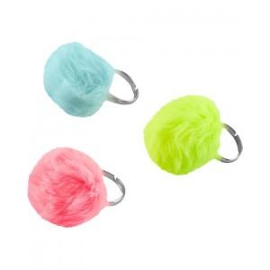 3-Pack Pom Pom Rings