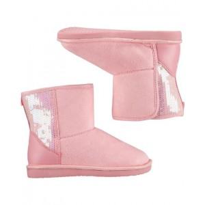 OshKosh Pink Sherpa Boots