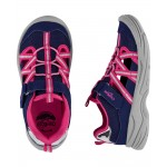 OshKosh Navy Bump Toe Sandals