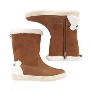 Carters Bear Sherpa Boots
