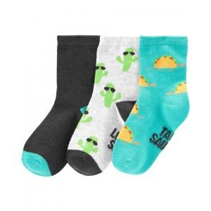3-Pack Tacos  Cactus Crew Socks