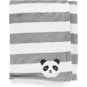 Panda Plush Fuzzy Blanket