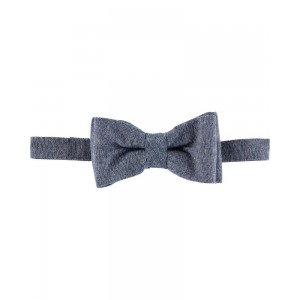 Chambray Bow-Tie