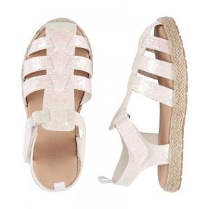 OshKosh Glitter Fisherman Sandals