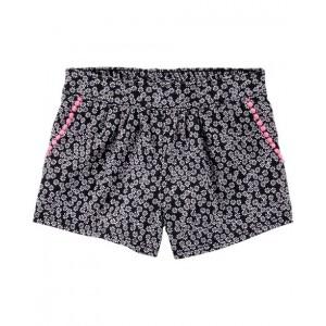 Daisy Pom-Trim Shorts