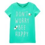 Bee Happy Jersey Tee