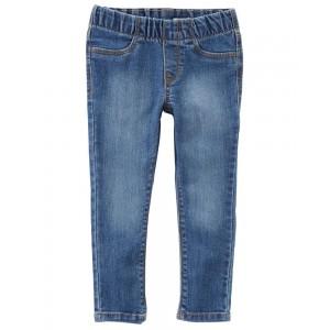 Pull-On Jeggings - Oceana Blue Wash