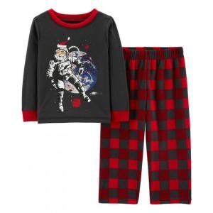 2-Piece Santa Astronaut PJs