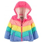 Rainbow Bubble Jacket
