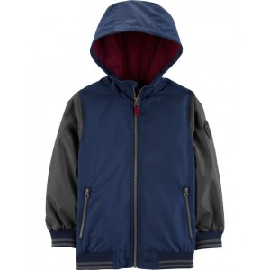 Raglan Fleece-Lined Jacket