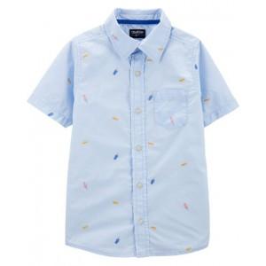 Picnic Button-Front Shirt