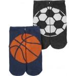 2-Pack Sports Ankle Socks