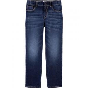 Regular Fit Classic Jeans - Rail Tie True Blue Wash