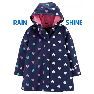 Color Changing Heart Raincoat