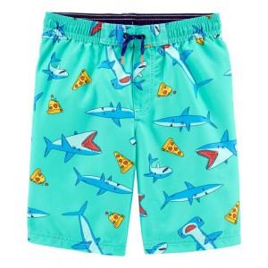 Carter's Shark Swim Trunks
