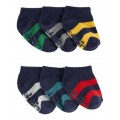 6-Pack Rugby Ankle Socks