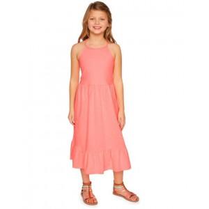 Braided Strap Midi Dress