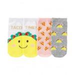 3-Pack Taco Ankle Socks