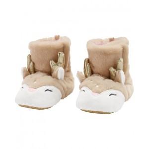 Carters Reindeer Slippers
