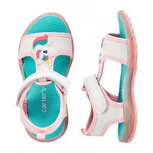 Carter's Unicorn Light-Up Sandals